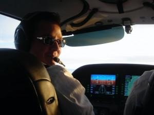 Aaron Cuha Flying